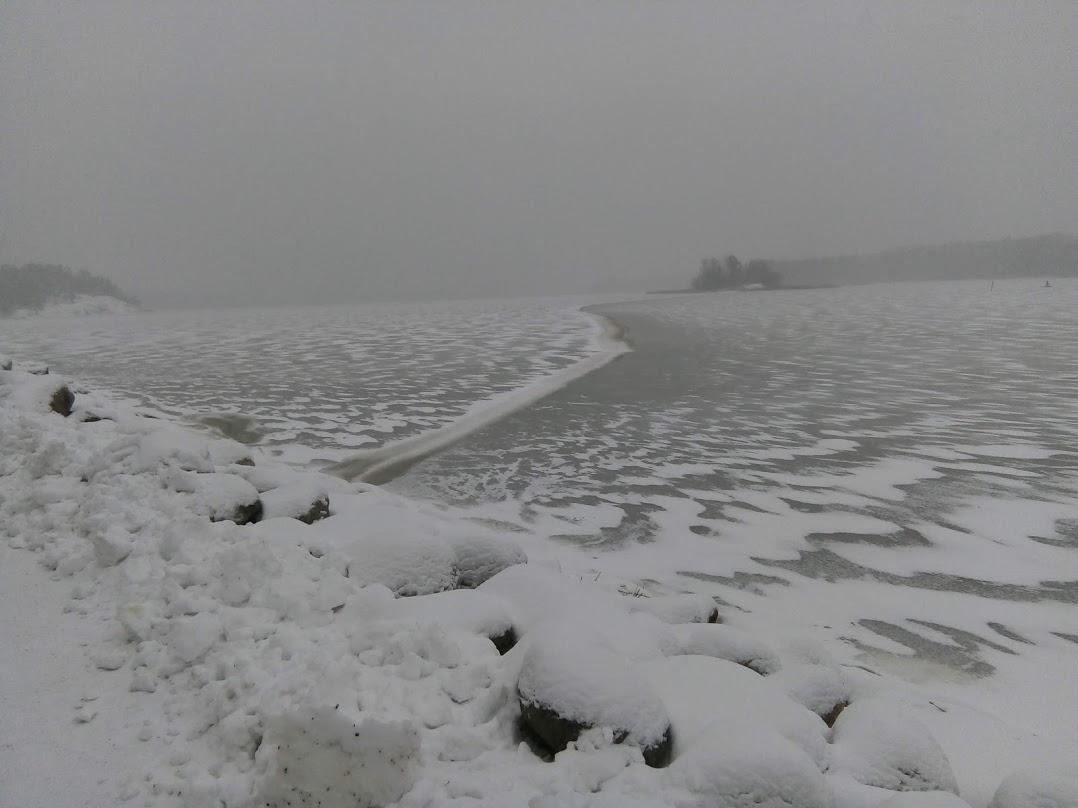 Nimi: Jäätynyt aalto, Kuvaaja: Tarja Kaltiomaa