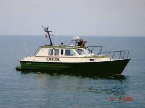 Kuvaaja veneessä